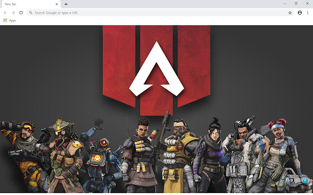 Apex Legends Wallpapers and New Tab