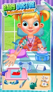 Baby Doctor Injection Game- screenshot thumbnail