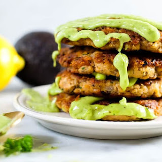 The Best Salmon Patties with Magic Green Sauce (Paleo + Whole30).