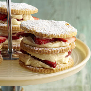 Strawberry Shortcake Stacks