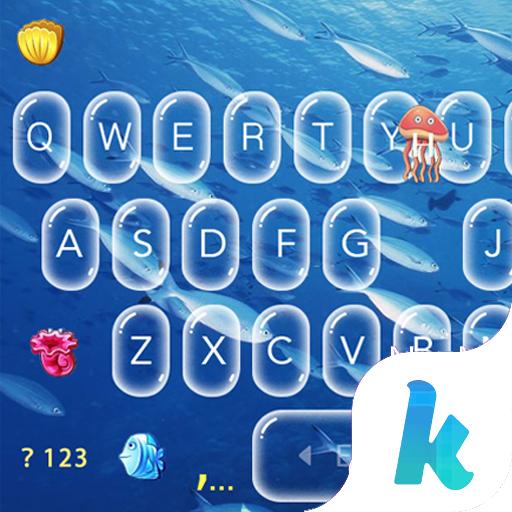 Keyboard - Sea World New Theme