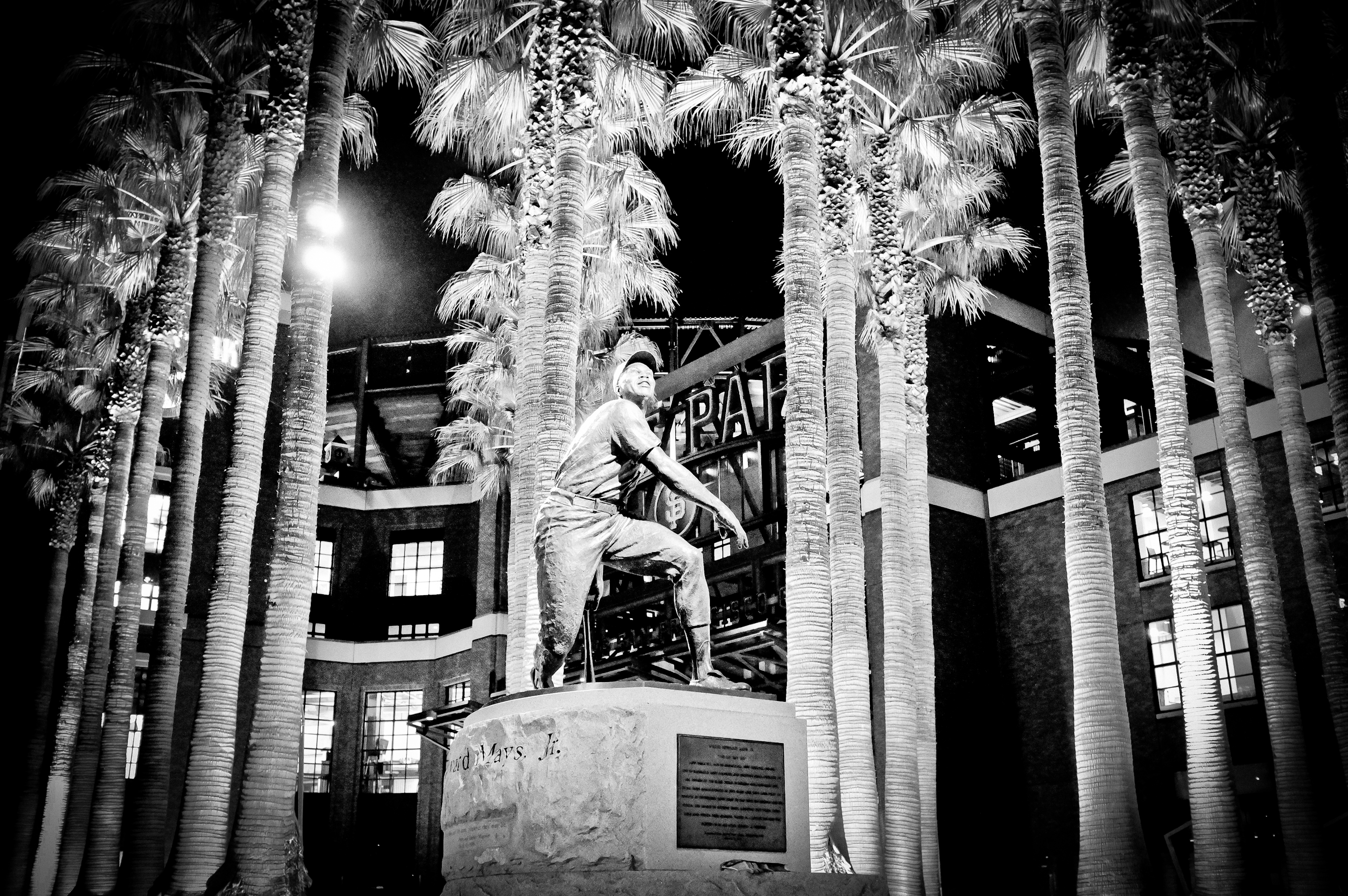 Photo: Willie Mays Plaza Fuji X100 ISO 5000 f/2.8