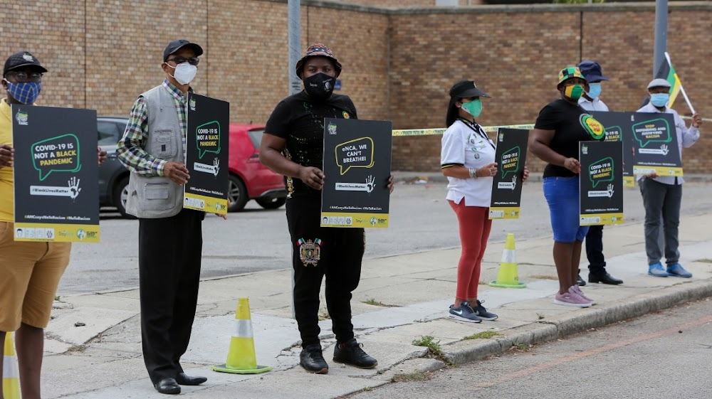 Gqeberha protesters join ANC's antiracism picket - SowetanLIVE