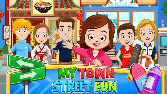 My Town : Street Fun MOD (Paid Content) 1