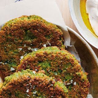 Green Chickpea Cakes