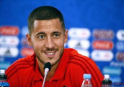 """Hazard n'a """"aucun souci à se faire"""" pour le match face au Japon"""