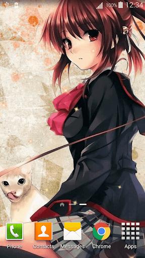 Anime Girl Wallpaper HD 2.5 screenshots 3