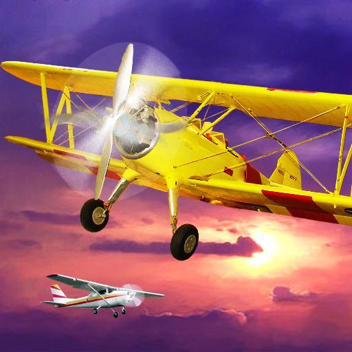 赛车游戏の飛行機レーシング LOGO-記事Game