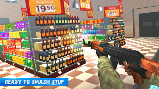 Office Smash Destruction Super Market Game Shooter 1.1.3 screenshots 2