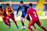 Youngsters van Club Brugge gaan onderuit bij Galatasaray en zijn nog niet zeker van een vervolg in de UEFA Youth League