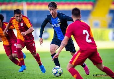 Un bon présage: le Club de Bruges domine Galatasaray en Youth League