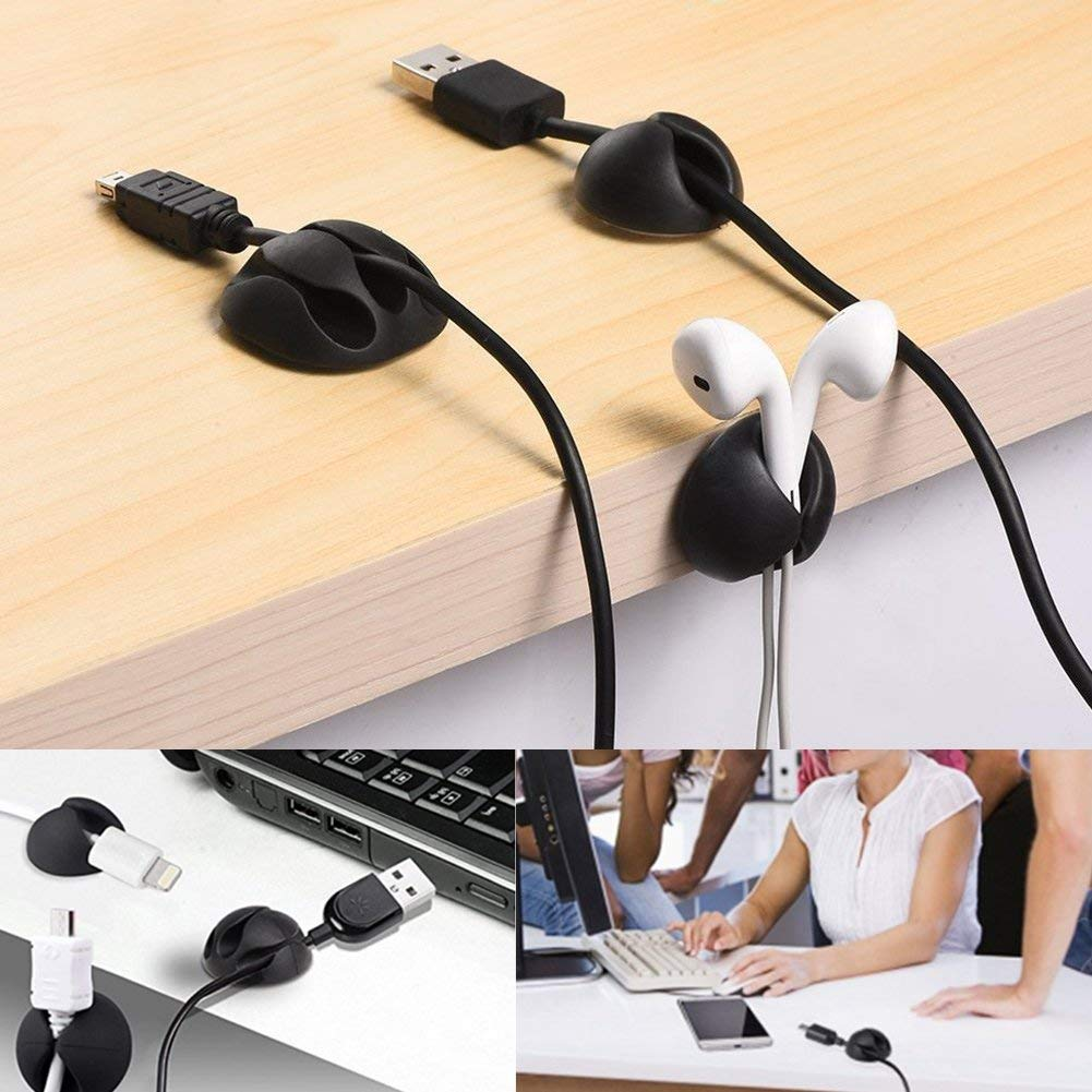 Cable Clips Desktop Cord Organizer