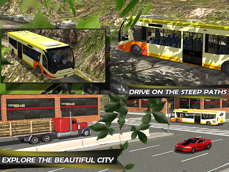 Tourist Train Hill Driving 1.1 screenshot 1660474