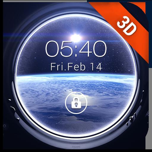 Outer Space Lockscreen