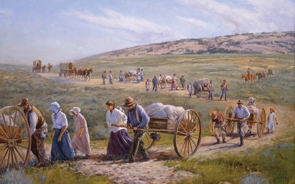 Pioneer History and A Westward Expansion Timeline | FamilySearch