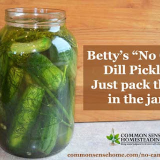 Canning Pickles Recipes