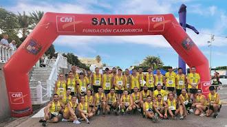 Miembros del Club de Atletismo Sur Este.