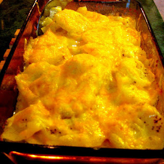 Cheesy Scalloped Potatoes For Two