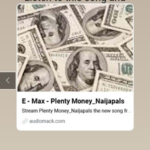 Plenty Money_Naijapals Upload Your Music Free