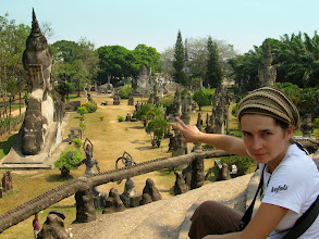 "Photo: Bizzare ""Buddha Park"" eg. Xieng Khuan"
