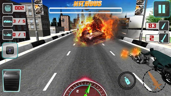 Bike Attack Crazy Moto Racing Screenshot