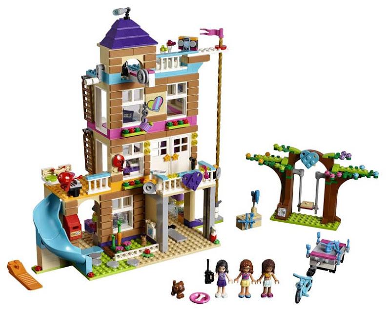 Contenido de Lego® 41340 Casa de la Amistad