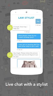 LookAtMe - Shop with a Stylist- screenshot thumbnail