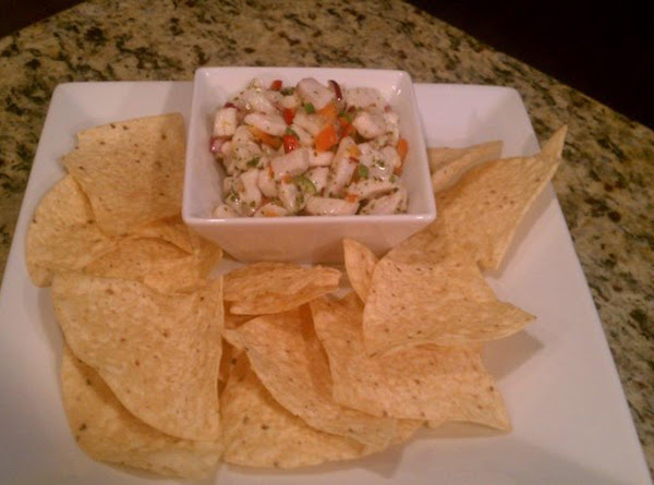 Fresh & Spicy Ceviche Recipe