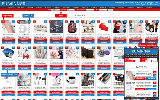 EU Winner - Find Winning AliExpress Products