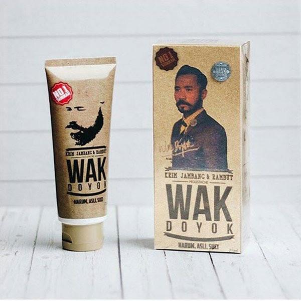 Krim Penumbuh Jambang Dan Rambut Wak Doyok Cream Original