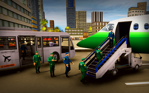 Airport Security Staff Police Bus Driver Simulator 1.0 screenshots 12