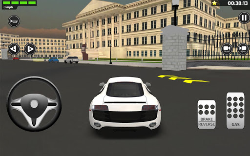 3D Car Driving Simulator - President Donald Trump 1.1 screenshots 5