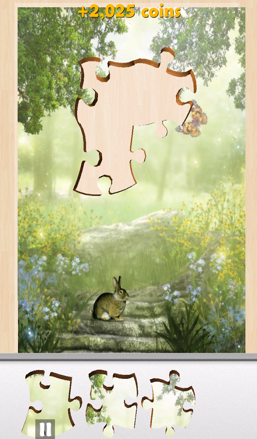 Live Jigsaws - Fantasy Forest- screenshot
