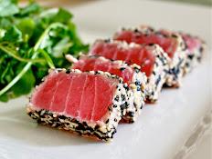 Blackened Tuna Sashimi