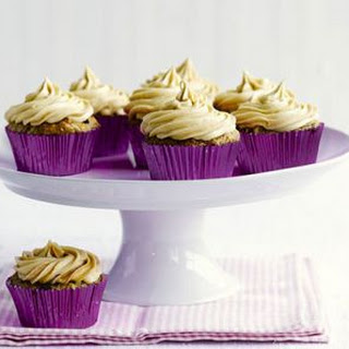 Dairy Free Banana & Peanut Butter Cupcakes