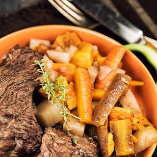 Dutch Oven Beef Roast.