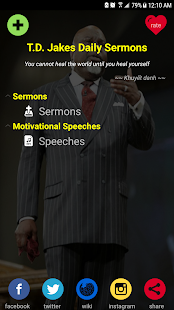 T.D. Jakes Daily Sermons - náhled