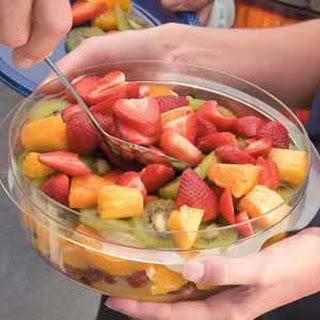 Layered Fruit Salad.