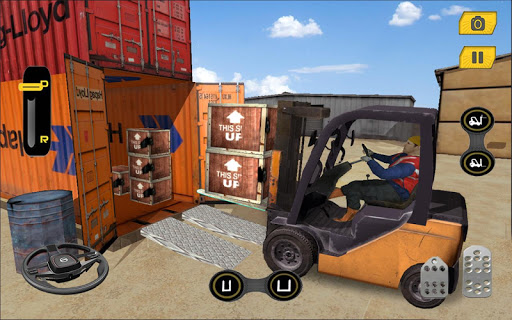 Real Forklift Driving Simulator Game 3D 1.3 screenshots 2