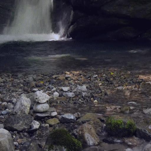 Cave Waterfall LWP Free