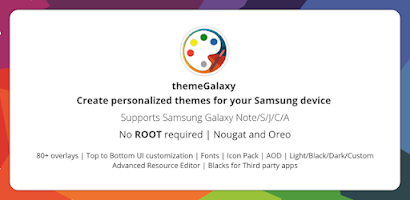 theme Galaxy - Theme Maker for Samsung Galaxy - Free Android app