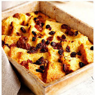 Bread & Butter Pudding.