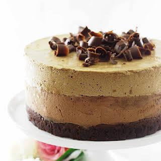 Chocolate Amaretto-Espresso Mouse Cake.