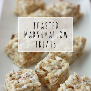 Toasted Marshmallow Krispies Treats (GF, DF, V).
