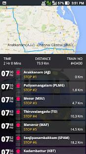 Chennai Suburban Train Timings - náhled