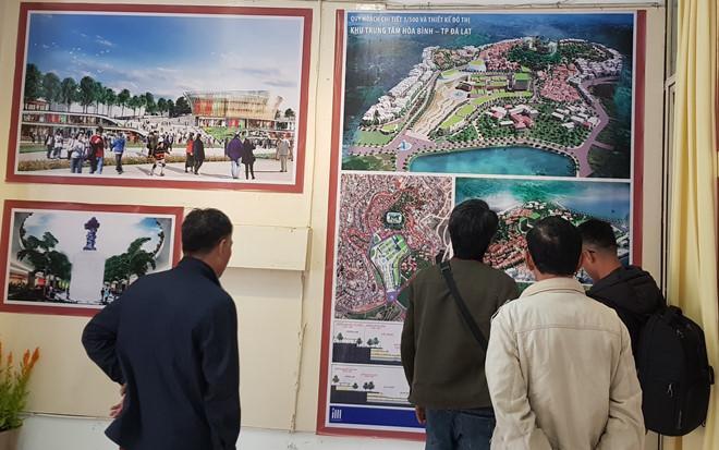 Đồ án quy hoạch trung tâm Hòa Bình quá xa lạ với Đà Lạt - ảnh 1