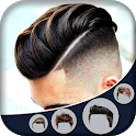 Man Hairstyle Camera Photo Booth icon