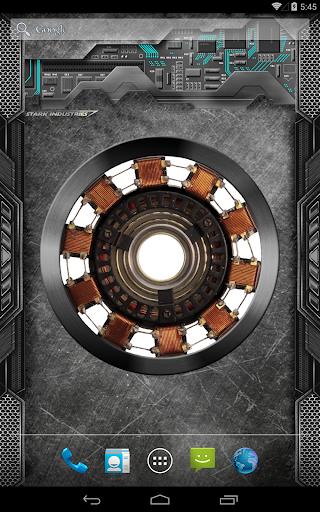Arc Reactor Live Wallpaper Screenshot 11