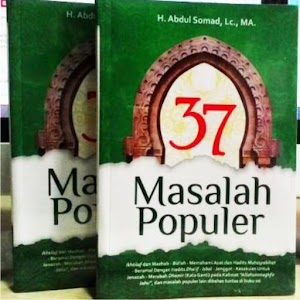 Buku 37 Masalah Populer Ust. Abdul Somat LC.MA.