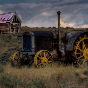 Praire Tractor by Greg Harcharik - Transportation Other ( . )